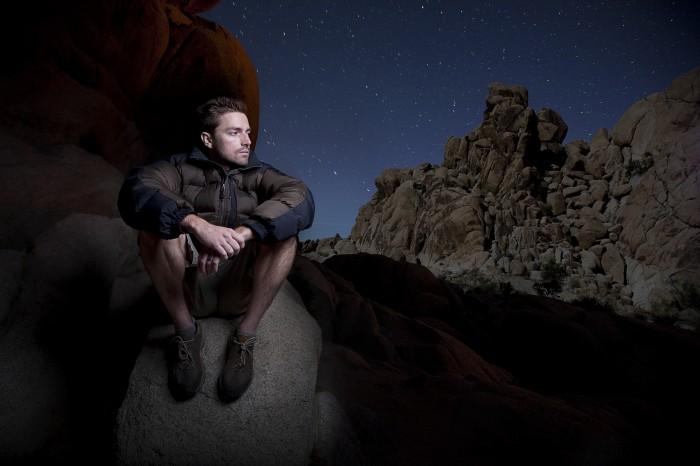 Joshua Tree Portrait At Night Nick Stentzel Photography